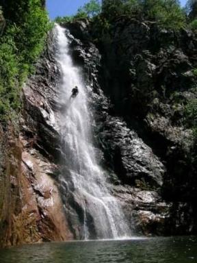 Cascade de Piscia in Alba