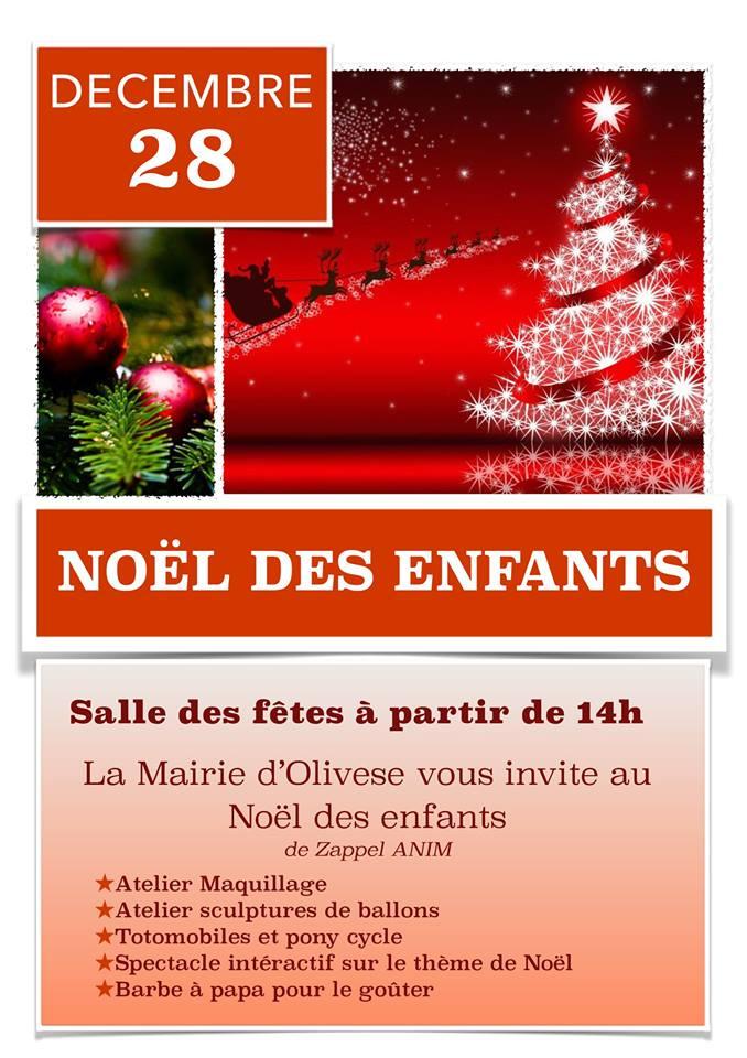 Noël des enfants le 28-12-2014